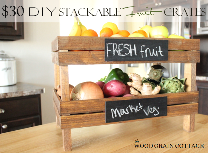 diy home improvement wood fruit crates