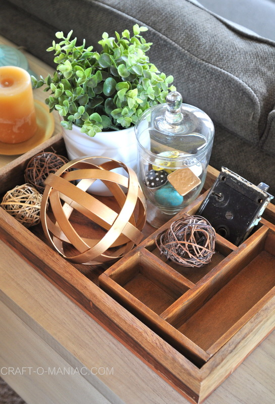 family room sofa table decor