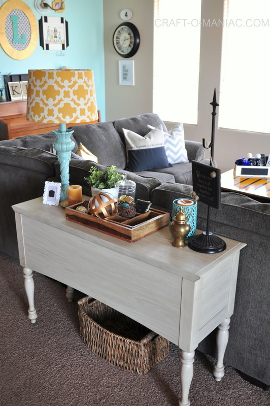 family room sofa table