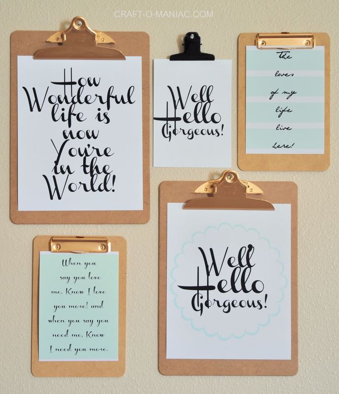 printable clipboard wall 1