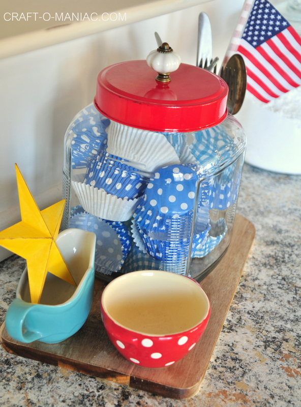 summer hutch cupcake liner jar