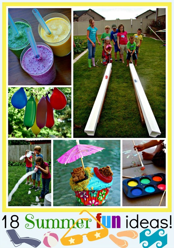 18 summer fun ideas for kids