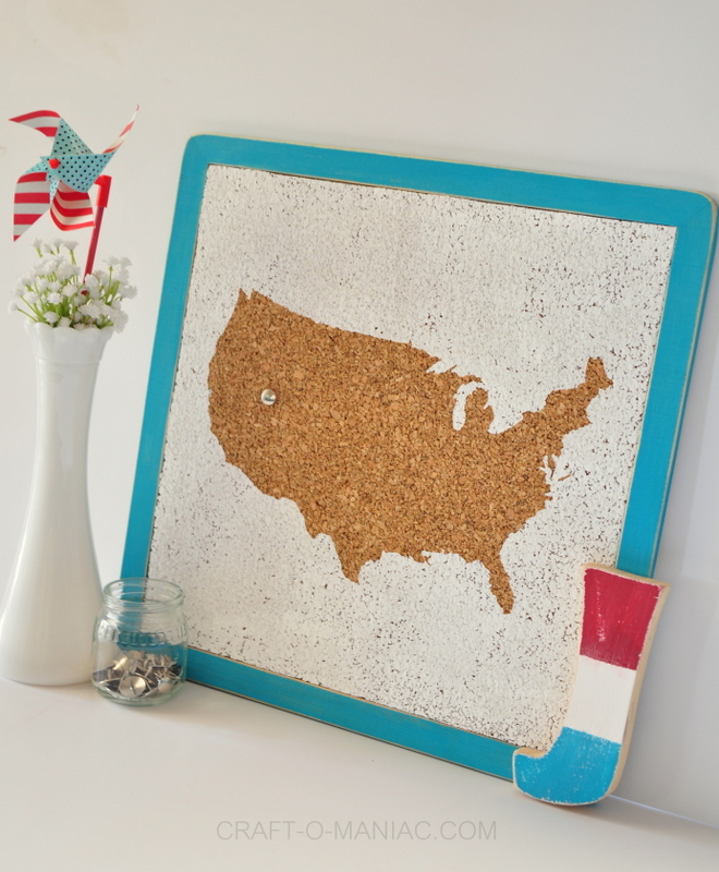diy usa cork board side 1