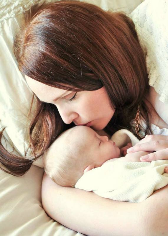 white mommy and baby shoot 4