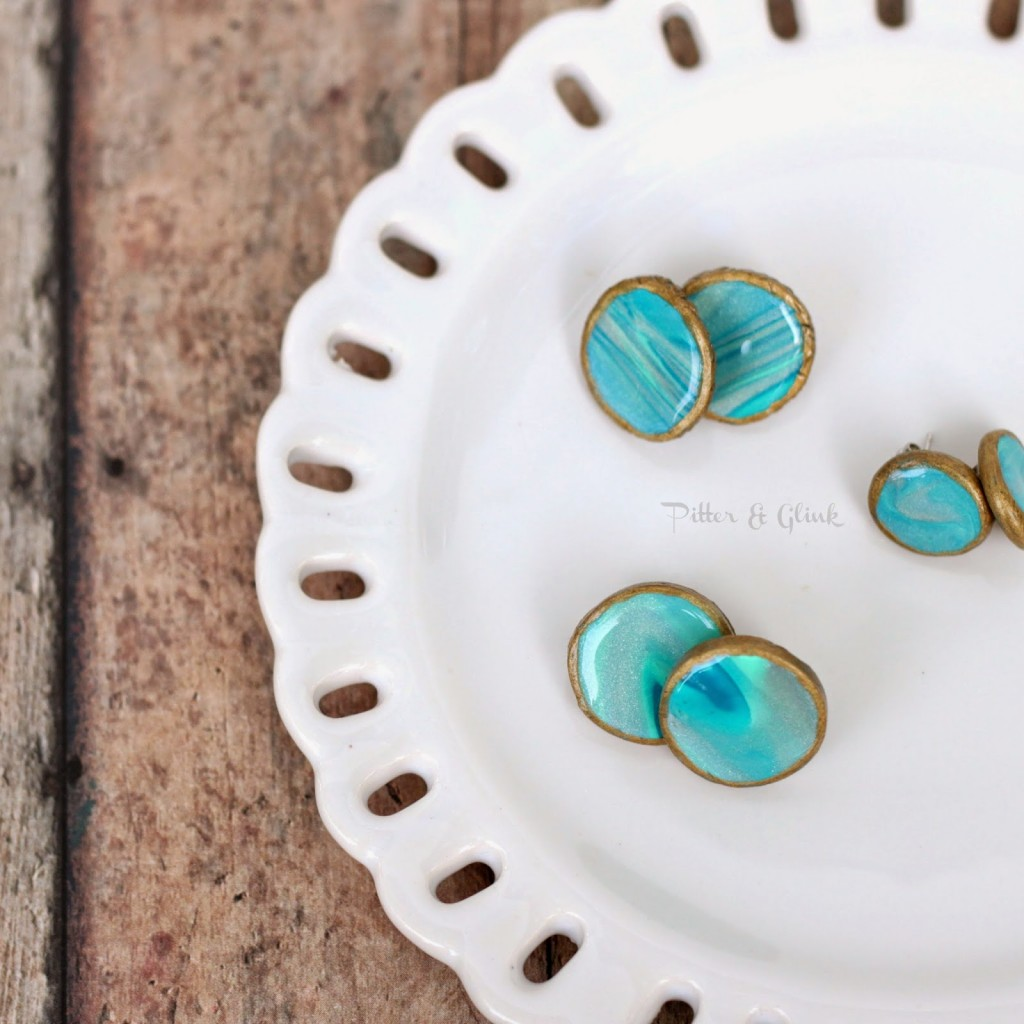 cc round up clay earrings all