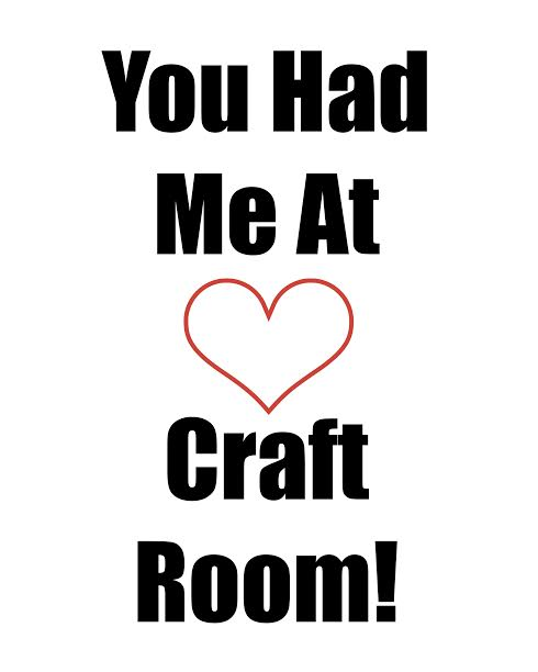 craft room love printable