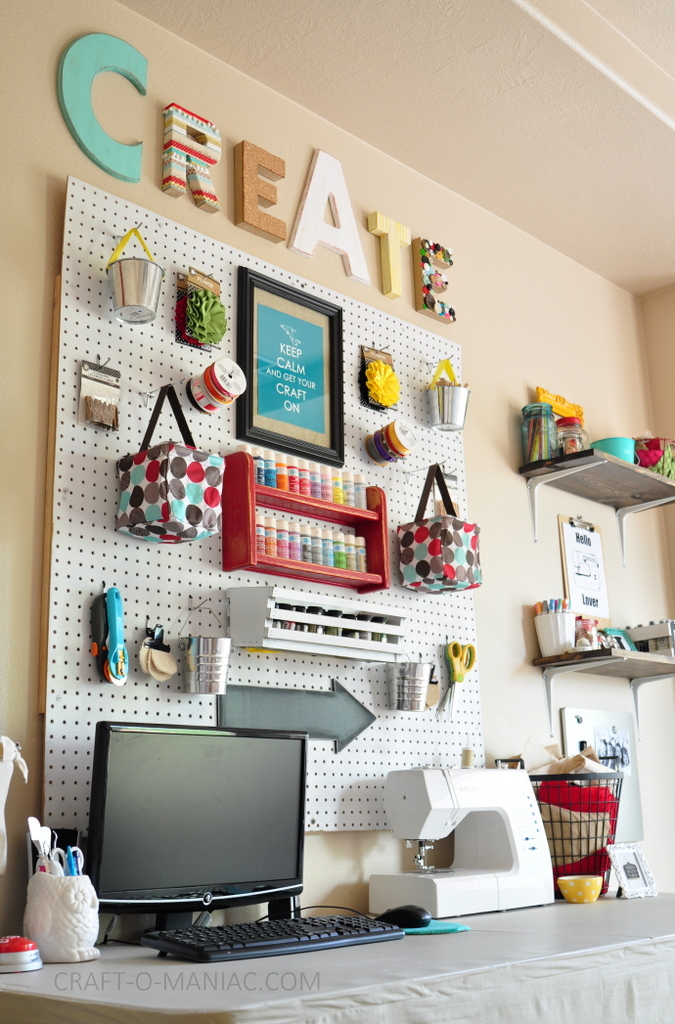 craft room makeover create angle