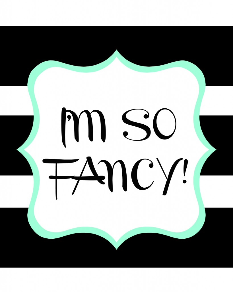 im so fancy big strip and mint