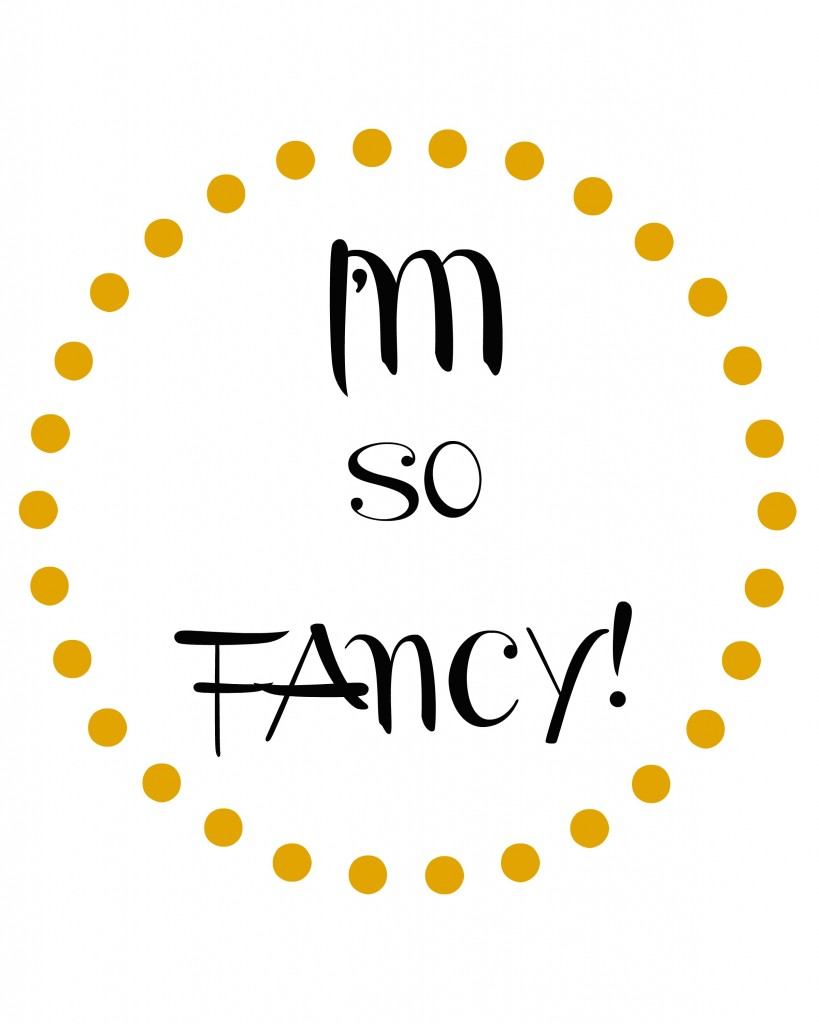 im so fancy dot circle gold