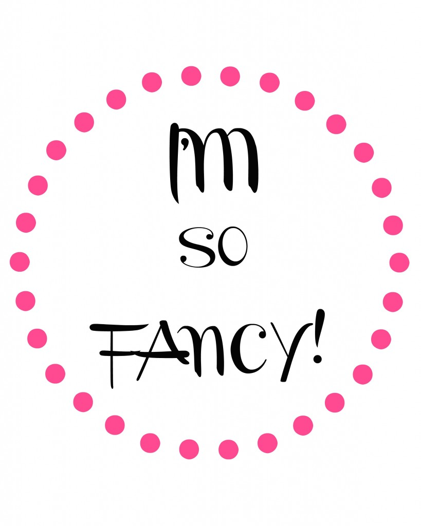 im so fancy dot circle pink