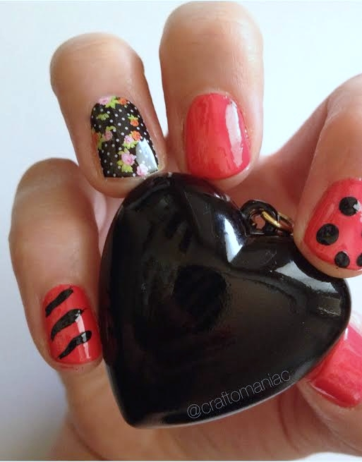 jamberry nails with heart1
