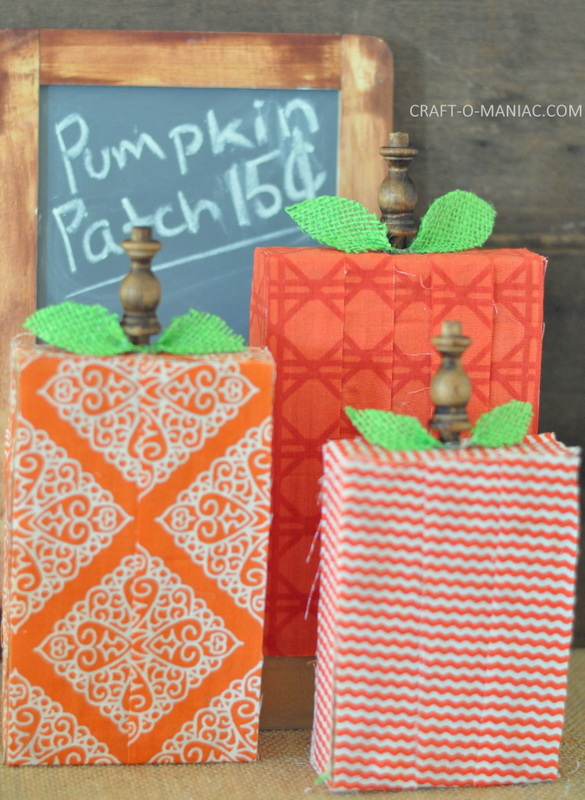 fabric scrap wood pumpkins10-001