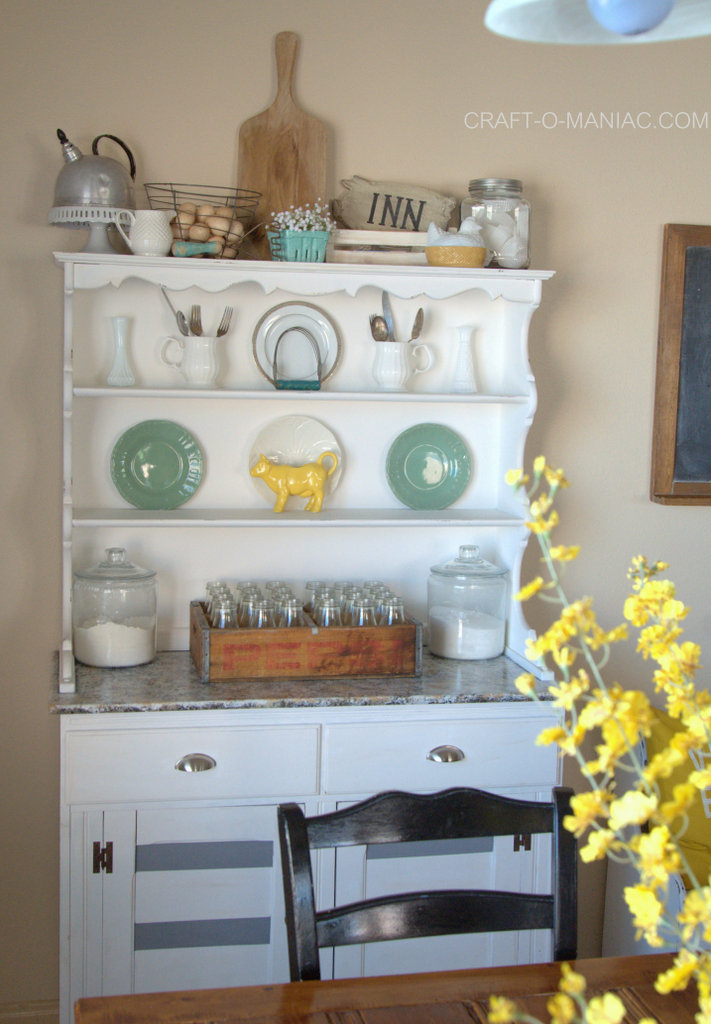 farm rustic chic kitchen decor1