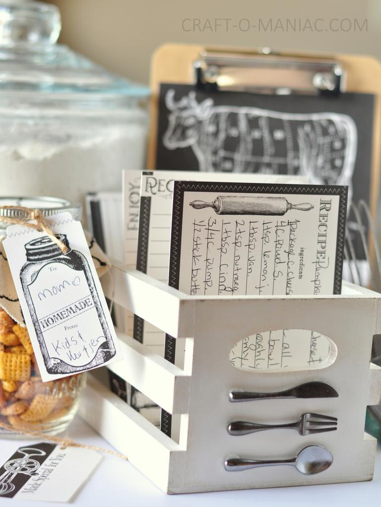 diy recipe box and stuff3