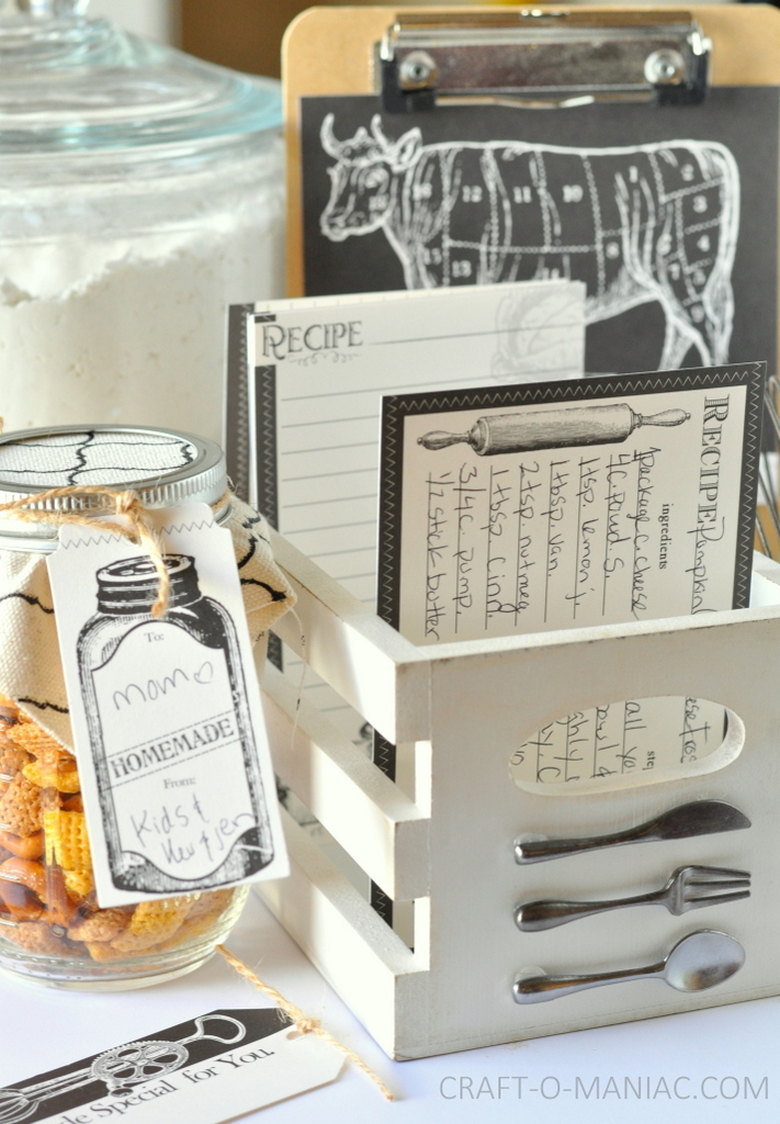 diy recipe box and stuff7