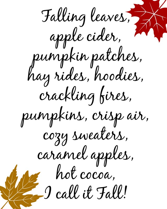 fall two leave printable