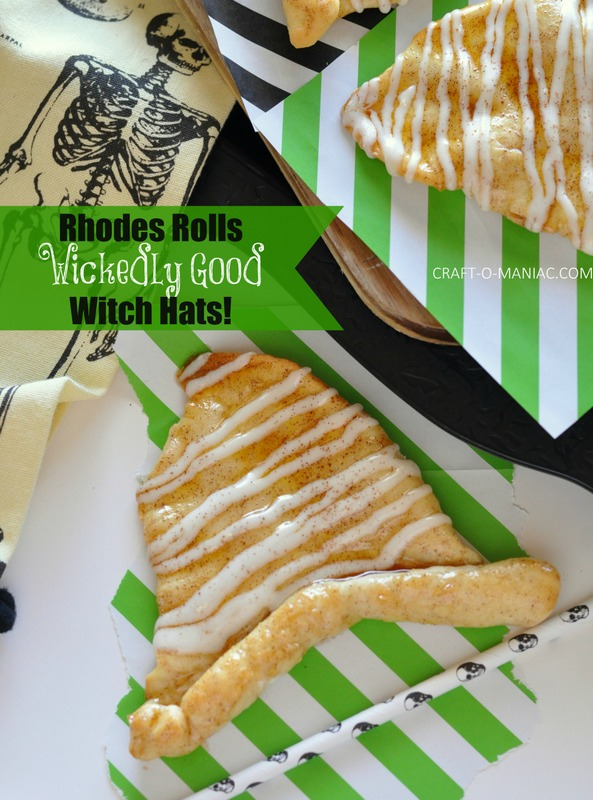 rhodes rolls wickedly good witch hats with text