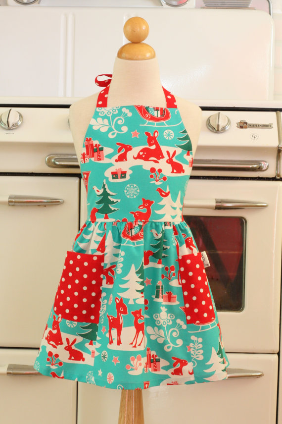 christmas gifts apron