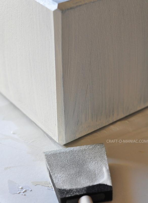 diy crackle finished wood block2