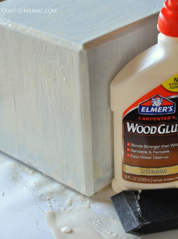 diy crackle finished wood block3