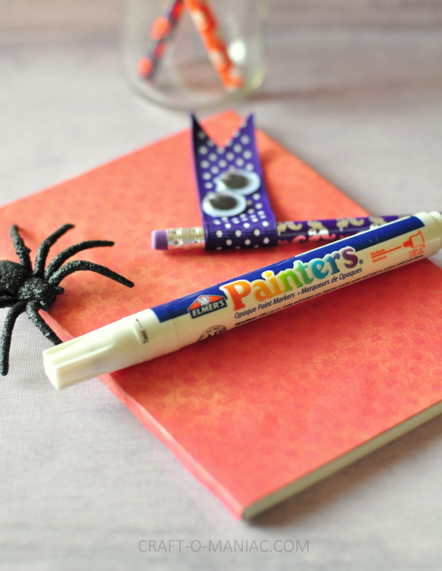 halloween embellished pencils5
