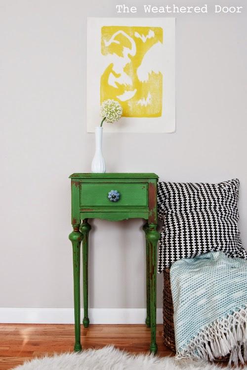 cc green table