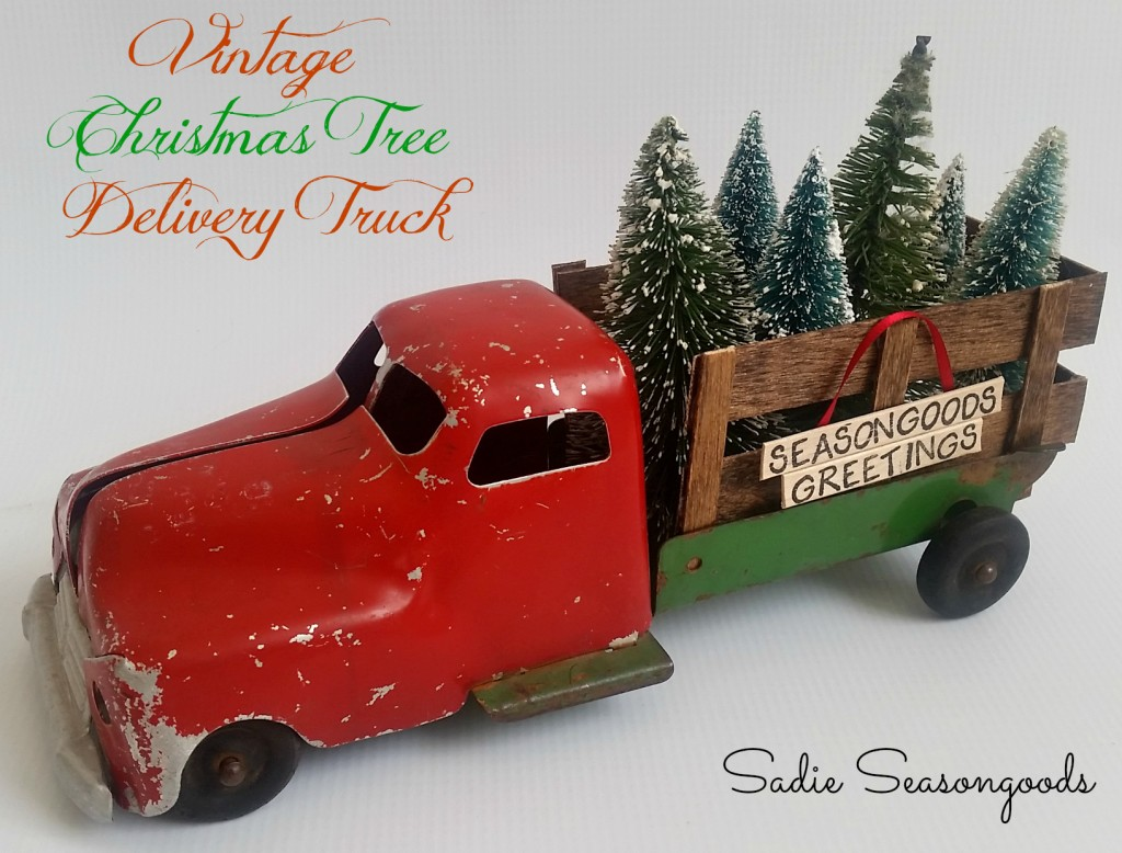 cc vintage truck with trees