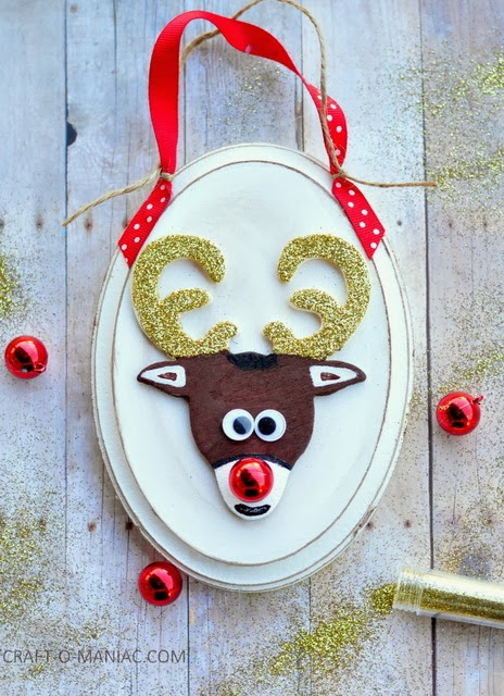 diy rudolph ornment my favorite one