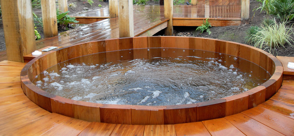 upgrade your home with a hot tub craft o maniac. Black Bedroom Furniture Sets. Home Design Ideas