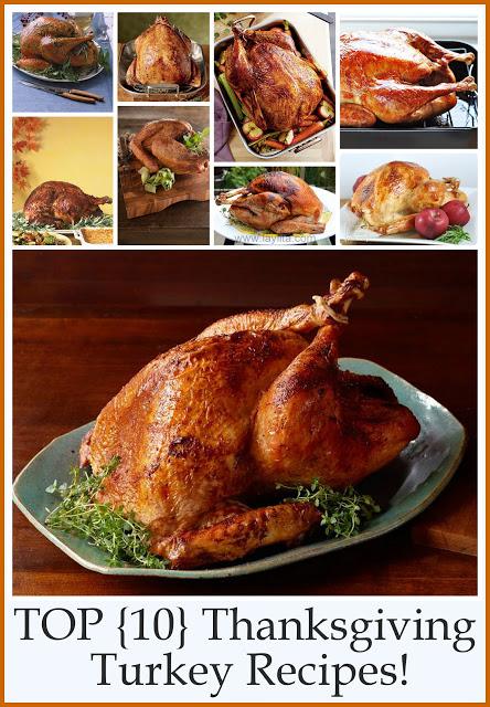 top-10-thanksgiving-turkey-recipes