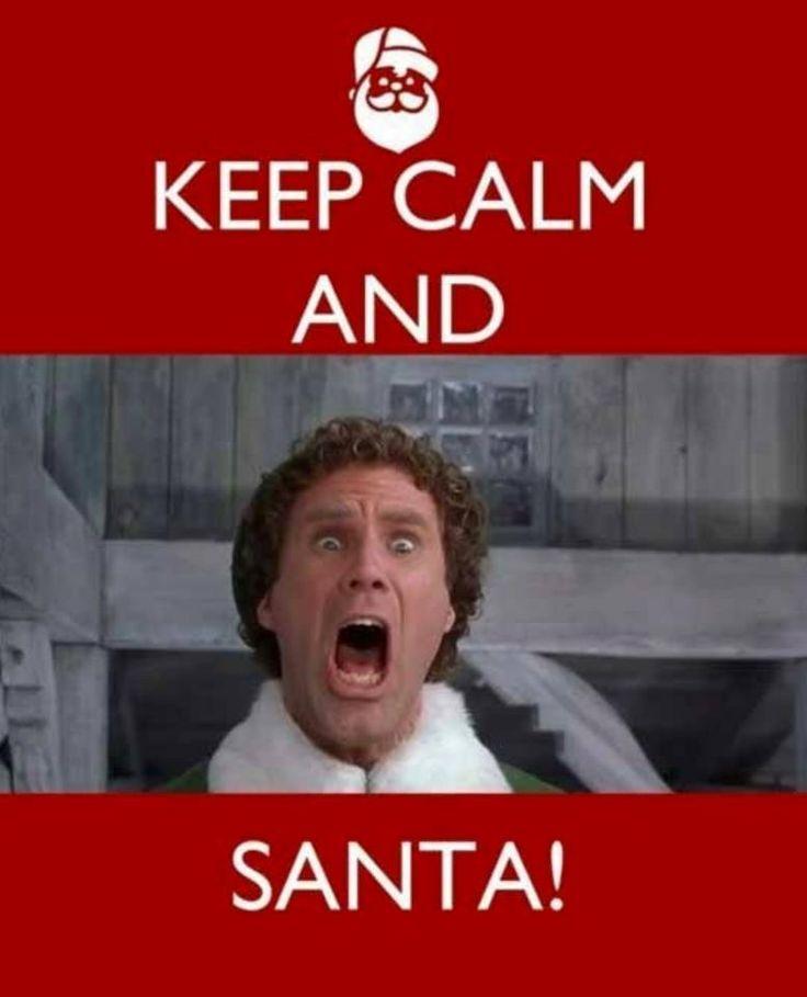 meme elf santa