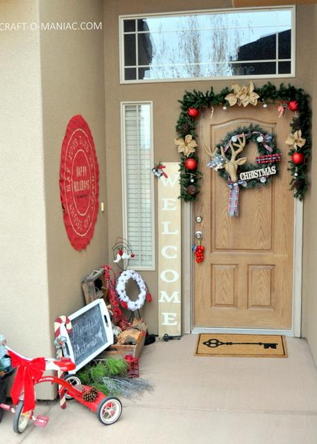 rustic christmas porch11