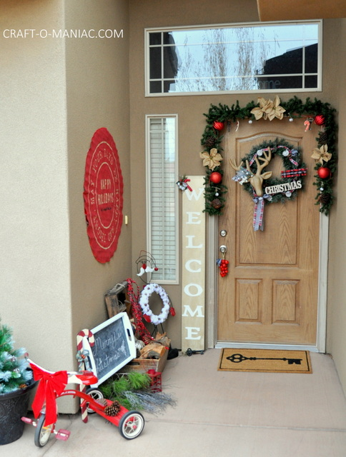 rustic christmas porch12