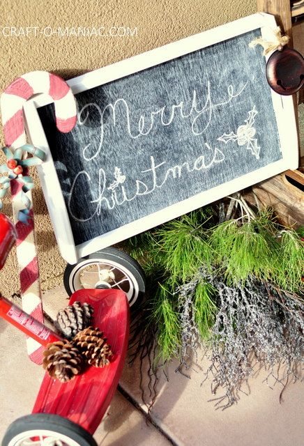 rustic christmas porch4