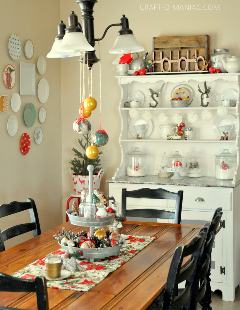 vintage christmas decor full