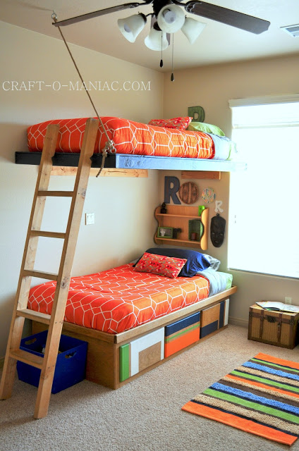 BOYS COLORFUL BEDROOM