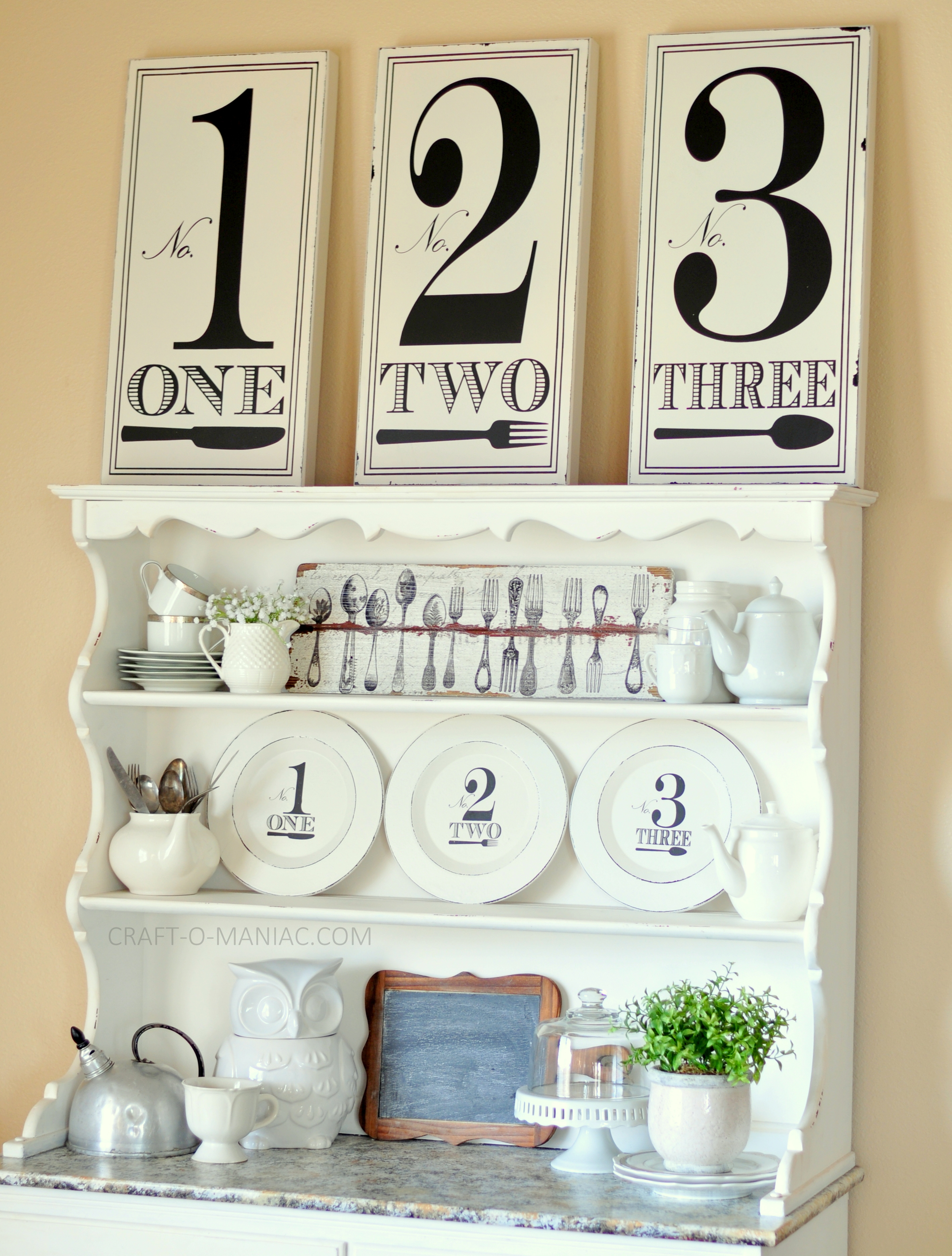 Good Black And White Hutch Large Numbers2