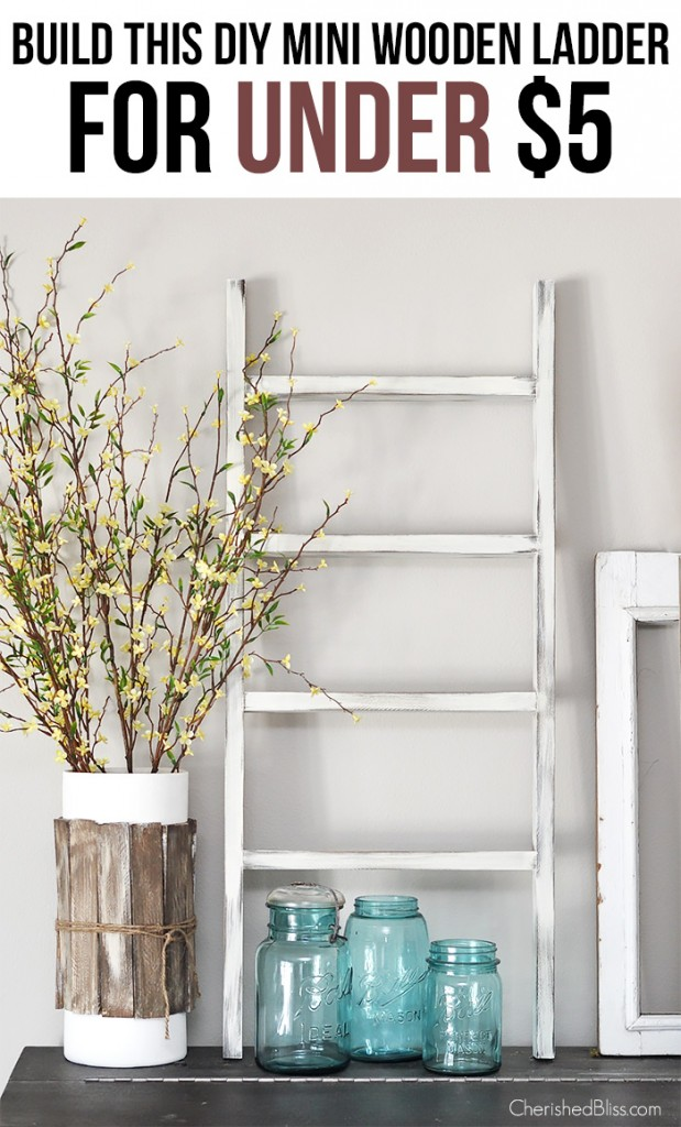cc diy wooden ladder