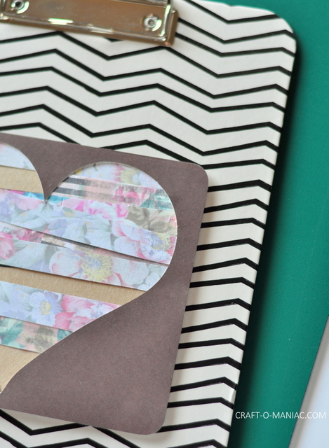 diy paper heart clipboard1