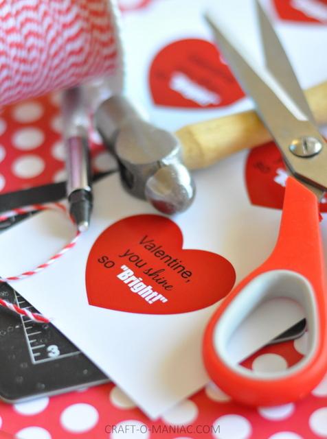 shine bright valentine