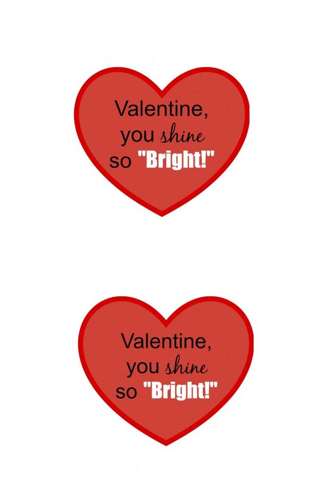 valentine printable tags