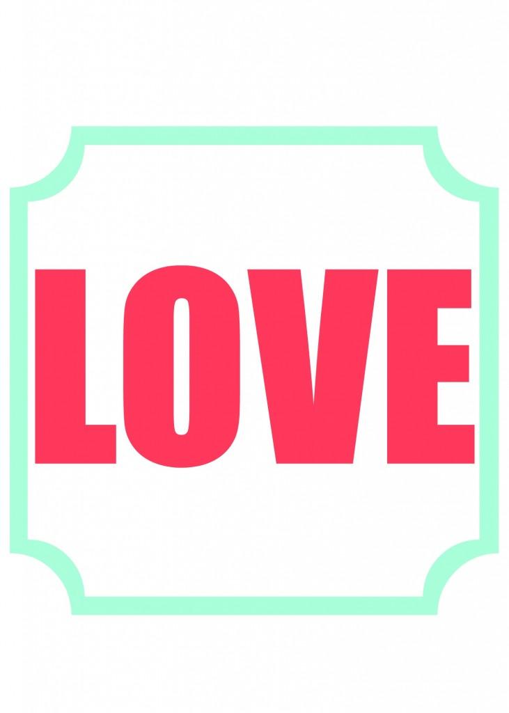 love printable 5