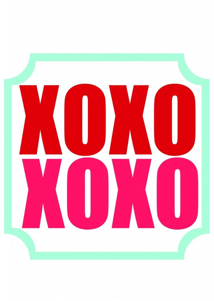 xoxo printable 2