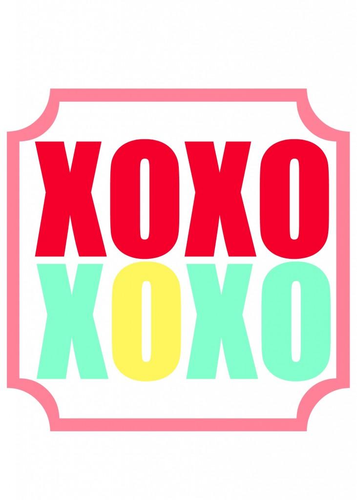 xoxo printable 6