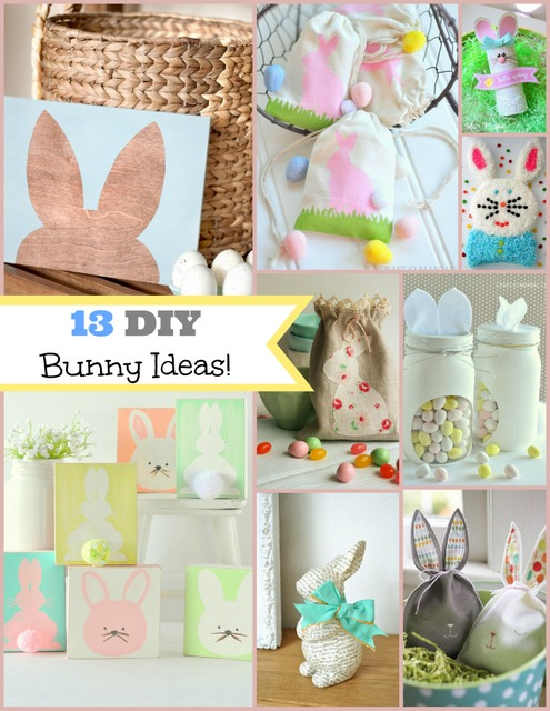 DIY 13 Easter Bunny Ideas pm