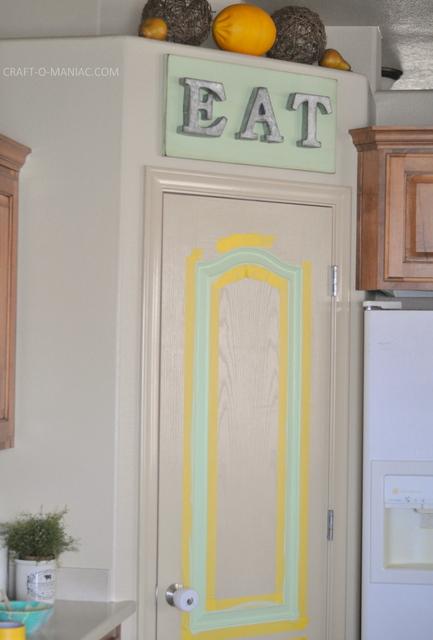 diy rustic pantry door2