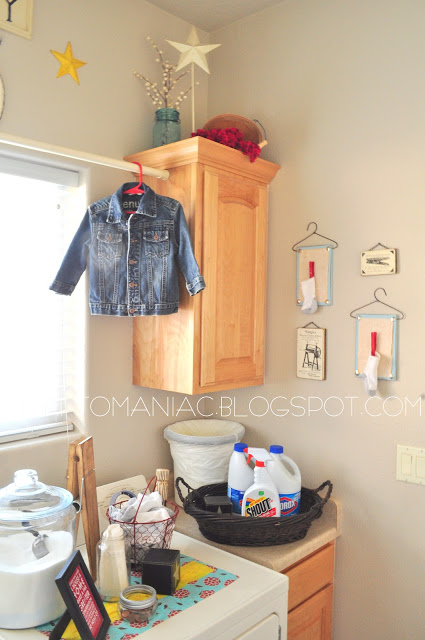 house hacks laundry curtain rod