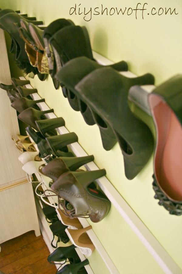 house hacks shoe holder
