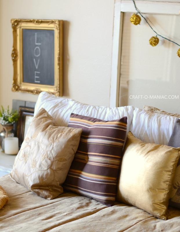 gold bedroom decor8