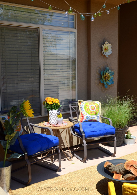 bright colorful porch decor14